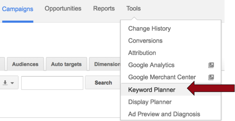 A Step-by-Step Guide to Google Keyword Planner